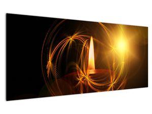 Tablou cu lumânare (V020812V12050)