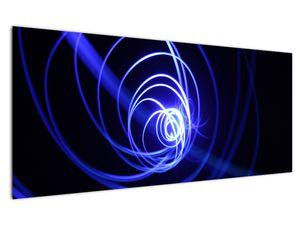 Kék spirálok képe (V020815V12050)