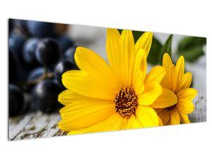 Obraz žluté květiny (V020952V12050)