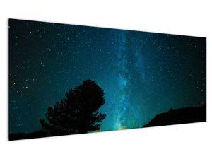 Obraz nočnej oblohy s hviezdami (V021100V12050)