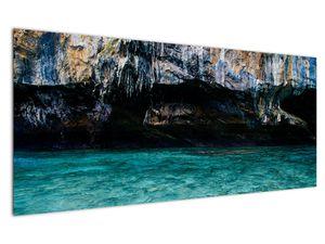A víz és a sziklák képe (V021152V12050)