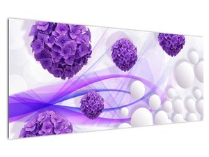 Obraz - Koule, kuličky, květy, ... (V021304V12050)