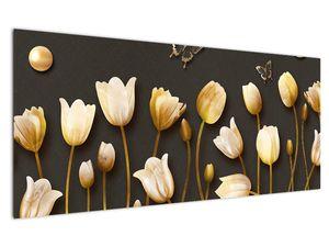 Obraz - Tulipány - abstraktné (V021347V12050)