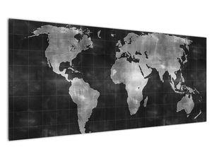 Obraz - Mapa světa (V021461V12050)