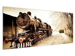 Slika - Povijesna lokomotiva (V021959V12050)