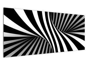 Absztrakt kép zebra csíkokkal (V021960V12050)