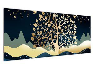 Obraz zlatého stromu (V022286V12050)