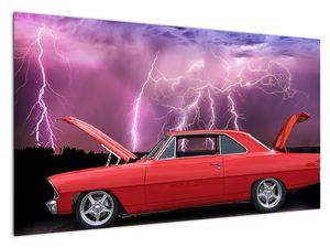 Slika crvenog automobila (V020409V12070)