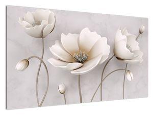 Slika belih rož (V020898V12070)