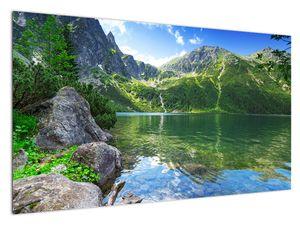 Slika jezera u Tatrama (V021101V12070)