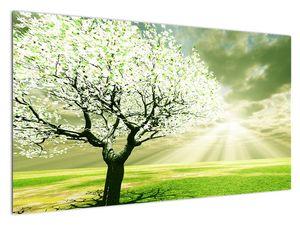 Slika stabla na livadi (V021282V12070)