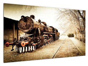 Slika - Povijesna lokomotiva (V021959V12070)