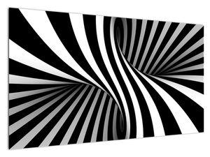 Absztrakt kép zebra csíkokkal (V021960V12070)