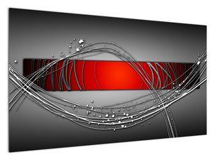 Abstraktionsbild (V022070V12070)