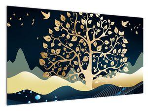 Slika zlatega drevesa (V022286V12070)