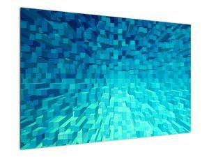 Obraz - abstraktní kostky (V020021V12080)