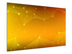 Abstraktní žlutý obraz (V020045V12080)