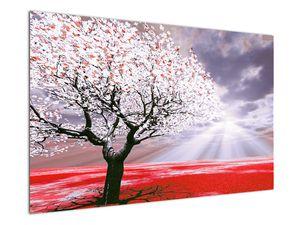 Červený obraz stromu (V020052V12080)