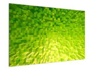 Obraz žlutozelených kostiček (V020057V12080)