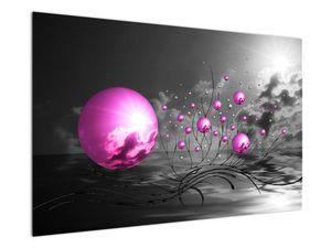 Obraz ružových gulí (V020108V12080)