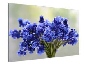 Obraz kytice modrých květů (V020175V12080)