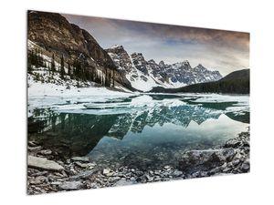 Tablou - lacul iarna (V020181V12080)
