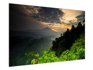 Obraz - zelená horská krajina (V020249V12080)