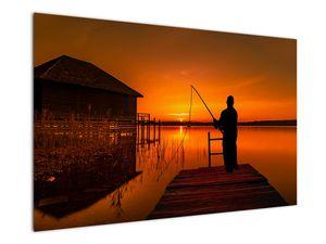 Tablou cu pescar (V020264V12080)