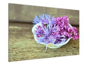 Obraz dekorace s levandulí (V020874V12080)