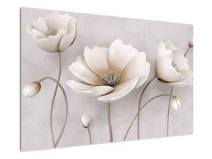 Obraz bílých květin (V020898V12080)