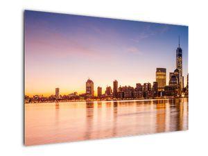 Obraz města při západu slunce (V020924V12080)