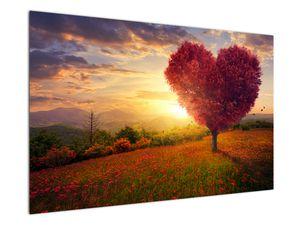 Obraz stromu v tvare srdca (V020949V12080)