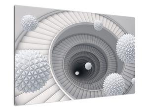 Obraz 3D abstrakce (V020975V12080)