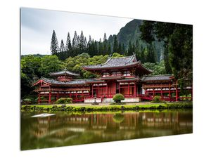 Obraz - Budhistický kláštor (V021325V12080)