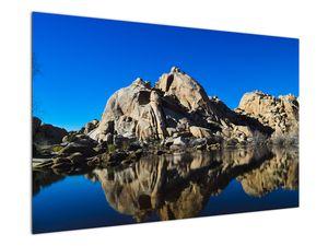 Obraz zrkadlenie skál (V021327V12080)