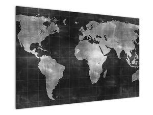 Obraz - Mapa světa (V021461V12080)