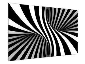 Absztrakt kép zebra csíkokkal (V021960V12080)