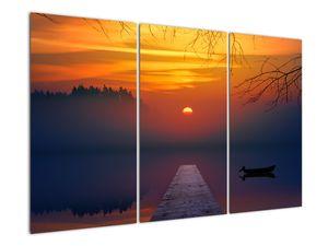 Híd képe naplementekor (V020012V120803PCS)