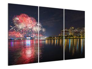 Tablou cu artificii in Singapur (V020035V120803PCS)