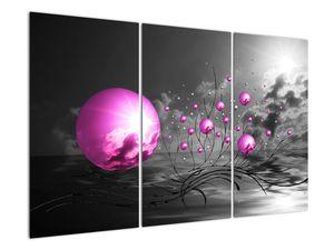 Obraz ružových gulí (V020108V120803PCS)