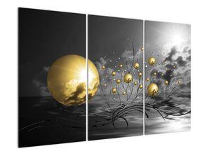 Okker gömbök képe (V020109V120803PCS)