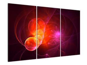 Moderní obraz růžové abstrakce (V020129V120803PCS)