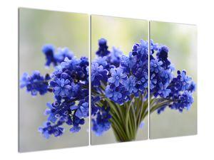 Obraz kytice modrých květů (V020175V120803PCS)