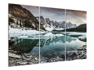 Tablou - lacul iarna (V020181V120803PCS)