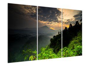 Obraz - zelená horská krajina (V020249V120803PCS)