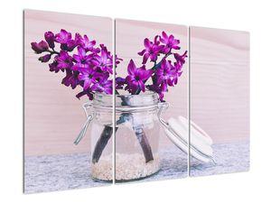 Obraz fialových květin (V020367V120803PCS)