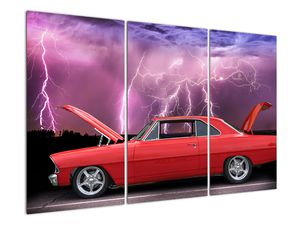 Slika crvenog automobila (V020409V120803PCS)