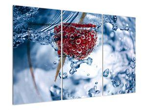 Kép - málna részlete a vízben (V020516V120803PCS)