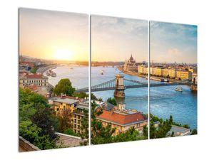 Obraz města Budapešť s řekou (V020712V120803PCS)