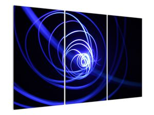 Kék spirálok képe (V020815V120803PCS)